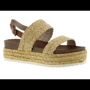 MIA Women's Ava Flat Sandal